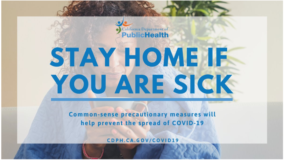 Stay At Home - CDPH