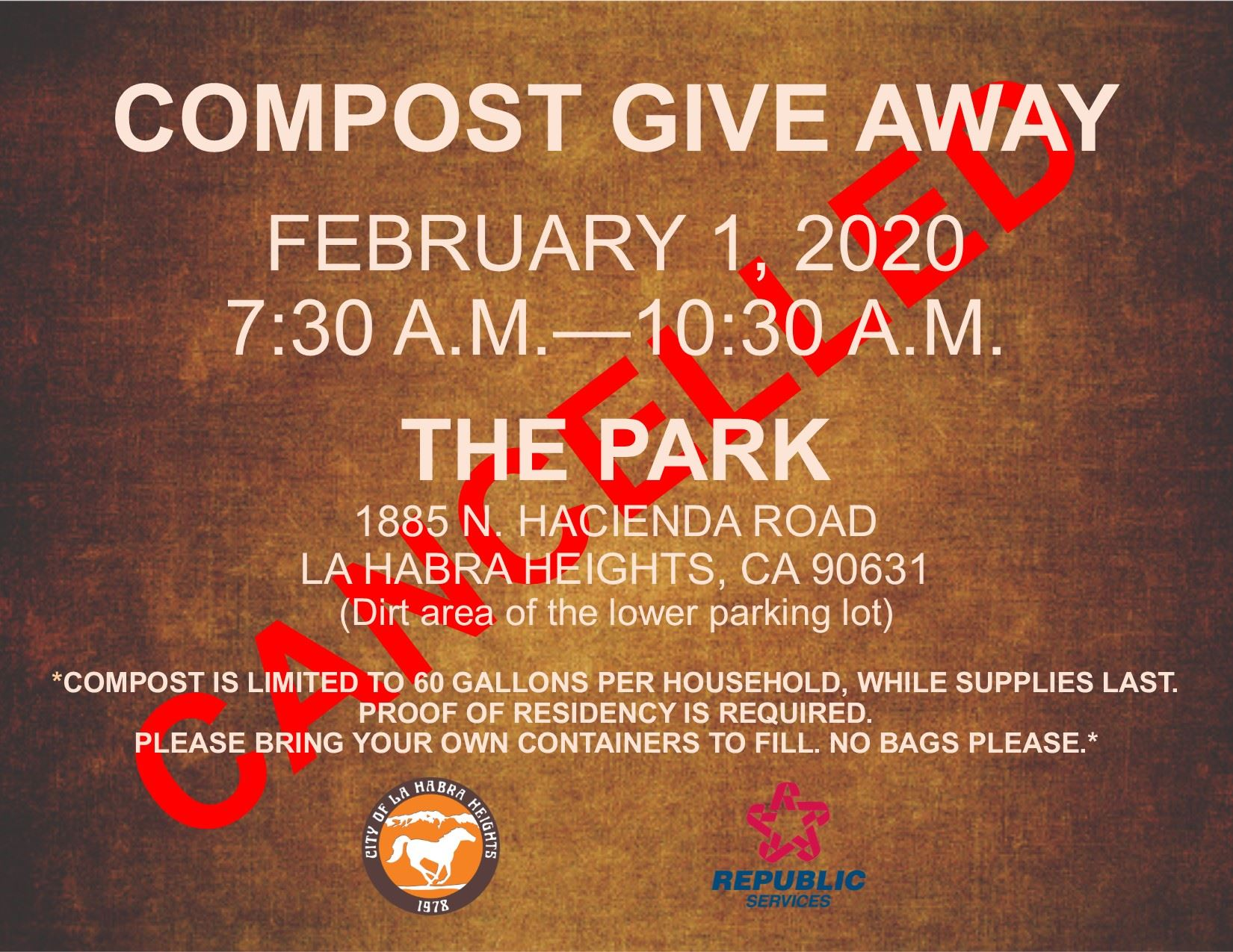 Compost Give Away 2020