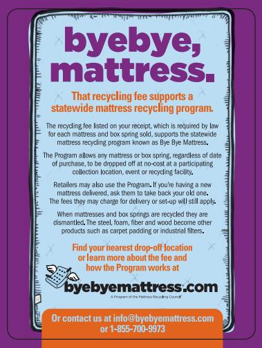 Bye Bye Mattress Info Card